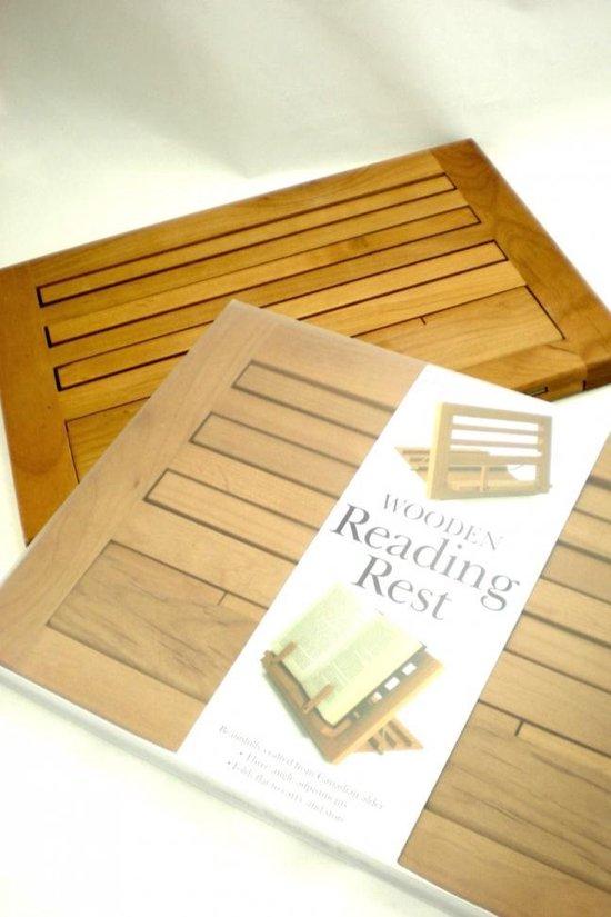 Boekbutler Hout -  Reading Rest
