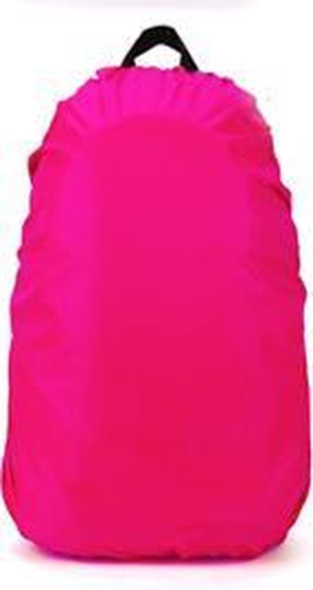 Universele backpack/rugzak regenhoes 25 tot 35 liter - Roze