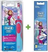 Oral B Stages Power Frozen - Elektrische Tandenborstel - Blauw