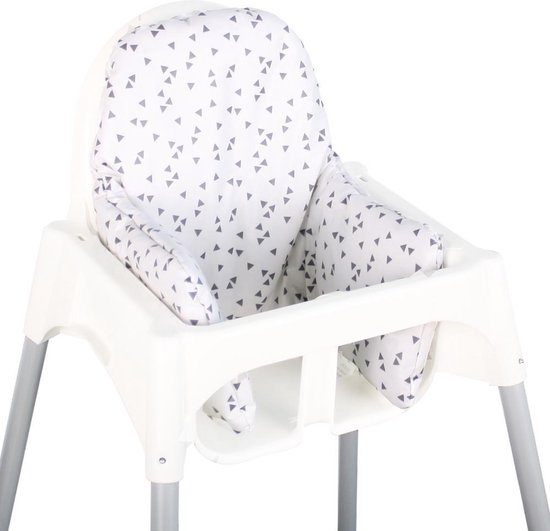 Verrassend bol.com | Ukje Kussen voor kinderstoel Ikea Antilop - Grijs TW-73