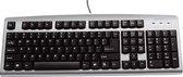 Quantore HK-6110 USB QWERTY Zwart, Zilver toetsenbord