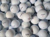 Golfballen gebruikt/lakeballs Mix wit AAA klasse 100 stuks