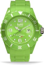 42,5 mm/green polycarbonate case