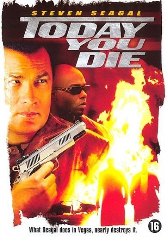 Cover van de film 'Today You Die'