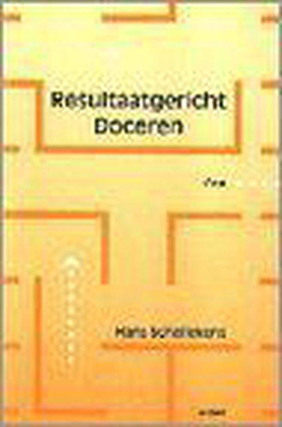 Resultaatgericht doceren - H. Schellekens |