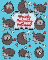 Weekly Hedgehog Calendar