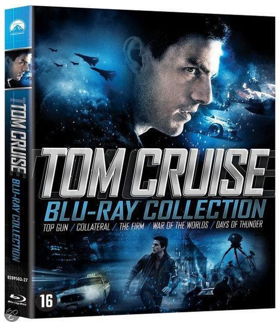 Cover van de film 'Tom Cruise Blu-ray Collection'