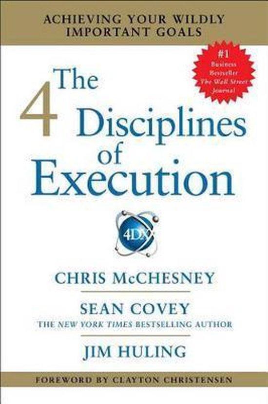 Afbeelding van 4 DISCIPLINES OF EXECUTION