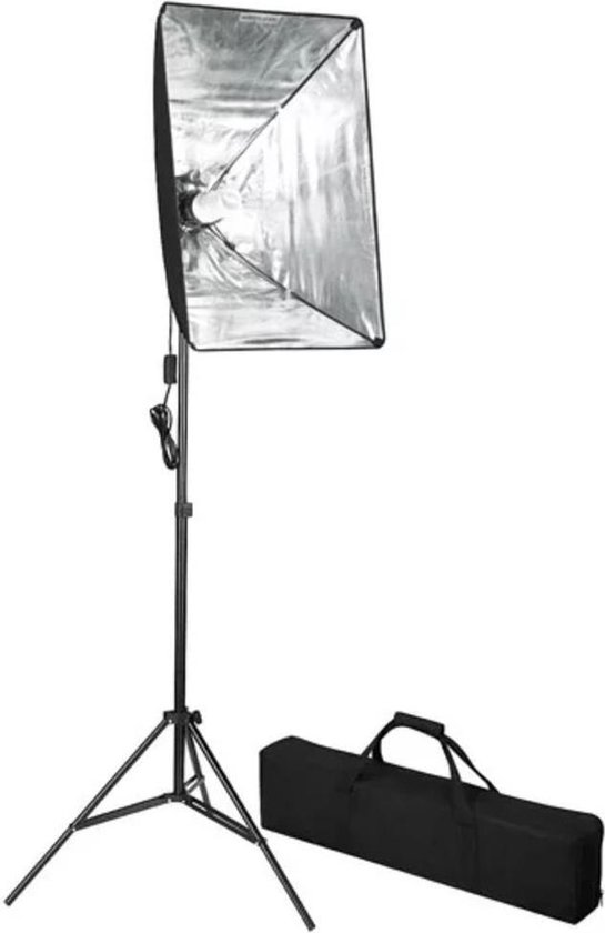 vidaXL - Studiolamp inclusief softbox 60 x 40cm