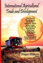 Boek cover International Agricultural Trade & Development van Dragan Miljkovic