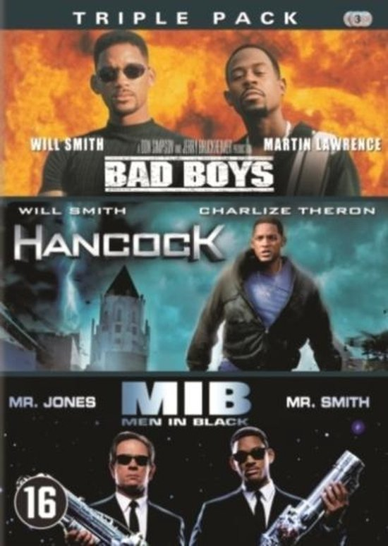 Cover van de film 'Bad Boys/Hancock/Men In Black'
