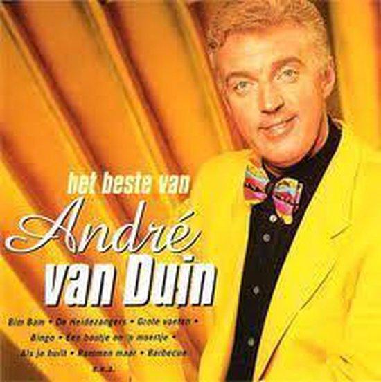CD cover van André van Duin - het beste van van Andre Van Duin