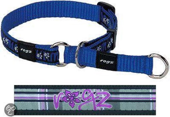 Rogz For Dogs Scooter Choker Floral Tartan 16 mmx31-45 cm