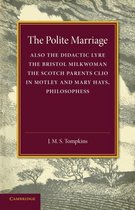 Boek cover The Polite Marriage van J. M. S. Tompkins