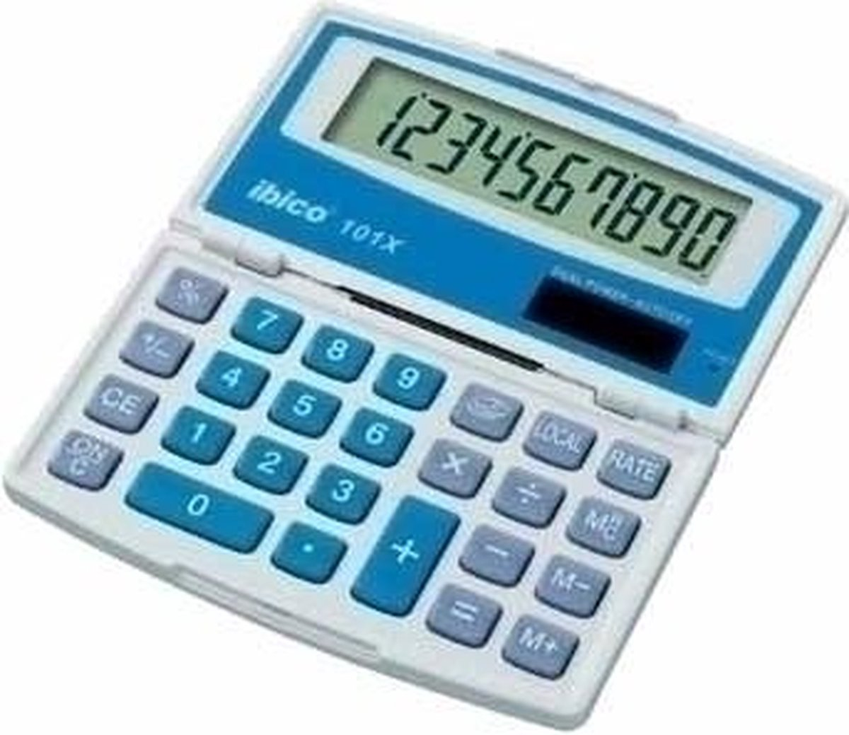 Ibico 101X Pocket Basisrekenmachine calculator