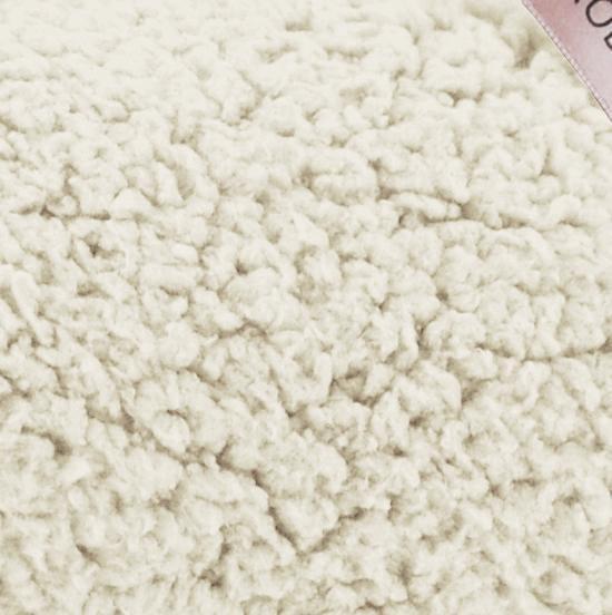 Woondeken Plaid Kate off-white 130x170cm - Merkloos