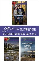 Love Inspired Suspense October 2015 - Box Set 1 of 2
