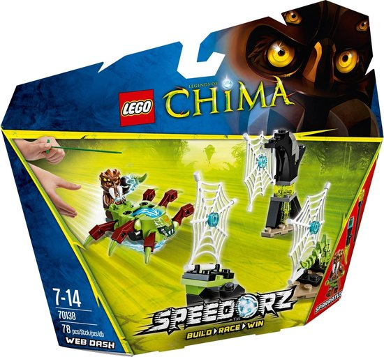 LEGO Chima Websprint - 70138