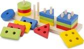 New Classic Toys - Vormenpuzzel - Multi Kleur