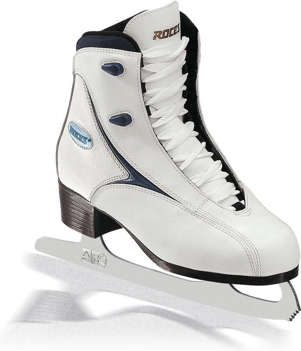 ROCES Kunstschaatsen RFG 1 Wit/Donkerblauw 40