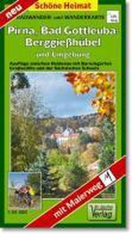 Bad Gottleuba-Berggießhübel, Pirna und Umgebung 1 : 35 000. Radwander- und Wanderkarte
