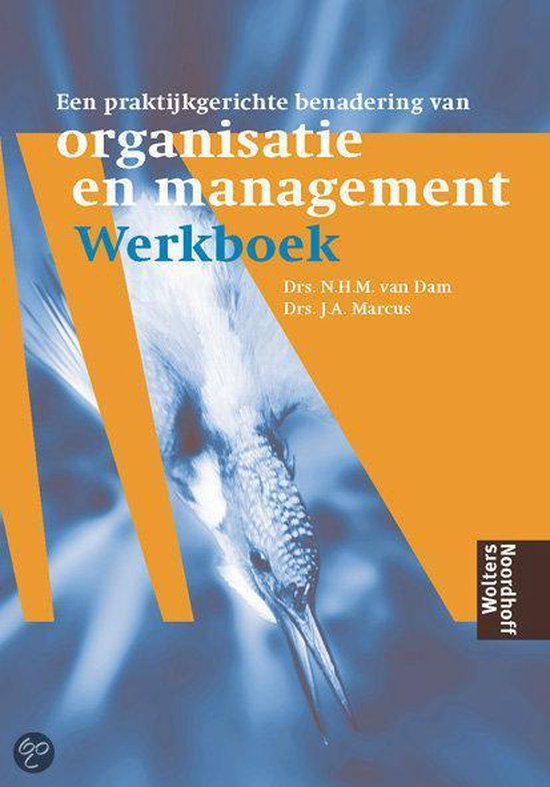Een praktijkgerichte benadering van Organisatie en Management - N.H.M. van Dam pdf epub