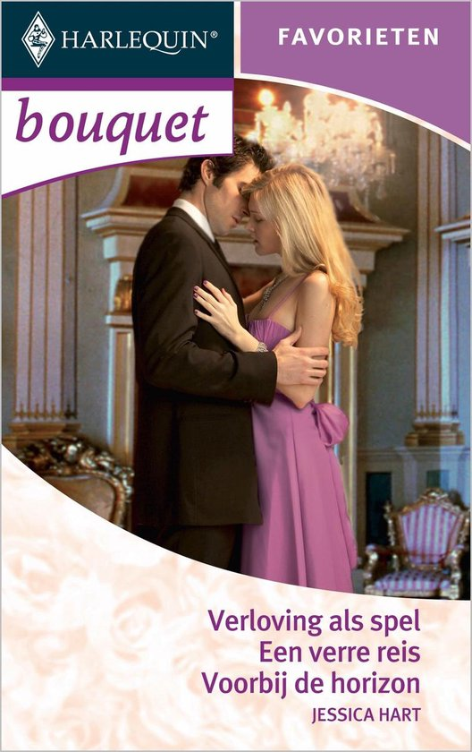 Verloving als spel / Een verre reis / Voorbij de horizon - Bouquet Favorieten 290, 3-in-1 - Jessica Hart |