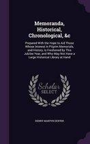 Memoranda, Historical, Chronological, &C