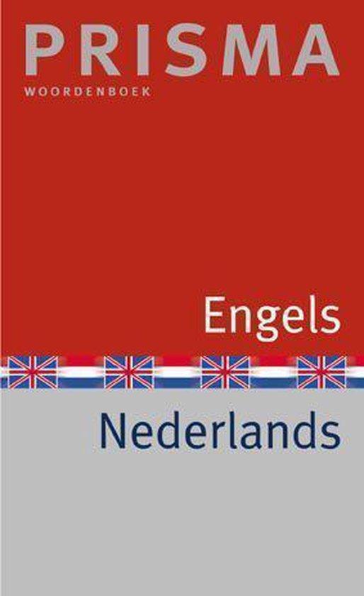 Boek cover Prisma English-Dutch Dictionary van M.E. Pieterse-van Baars (Paperback)