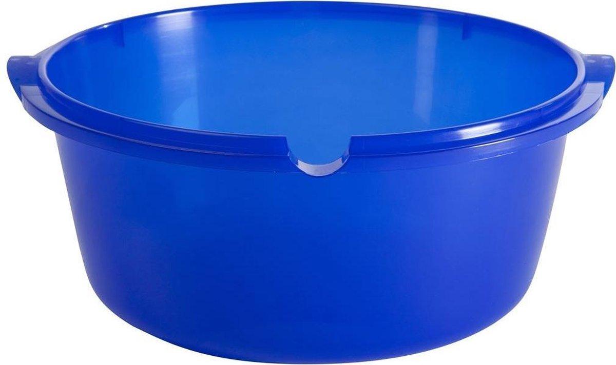 Allibert waskom rond ergo 11L blauw