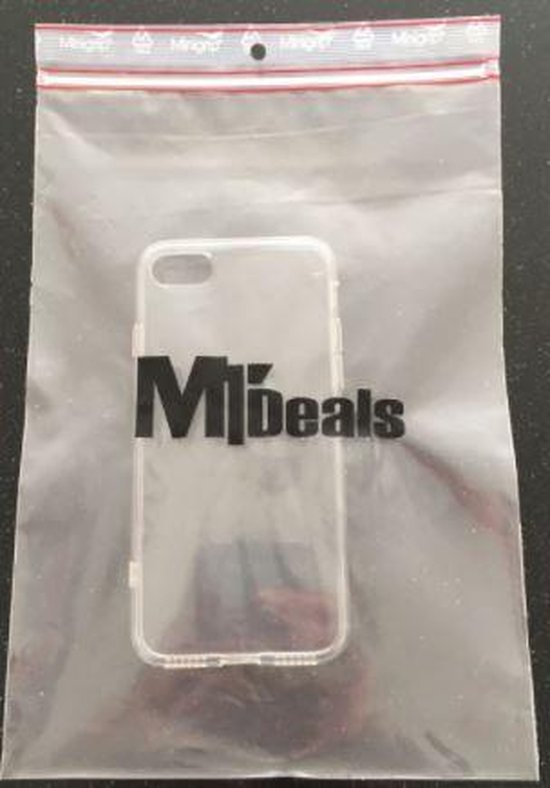 MT Deals - Apple iPhone 7 siliconen hoesje transparant - zachte hoesje - soft case