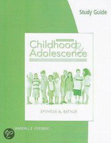 Study Guide for Rathus' Childhood and Adolescence: Voyages in Development, 4th
