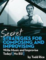 Omslag Secret Strategies for Composing and Improvising