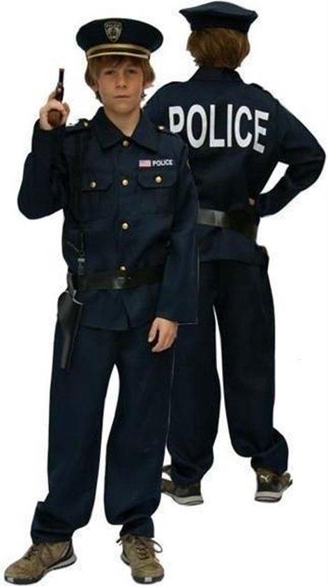 Politie jongen met kepie - Maat 128