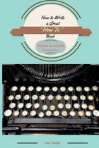 How to Write a Great 'how To' Book