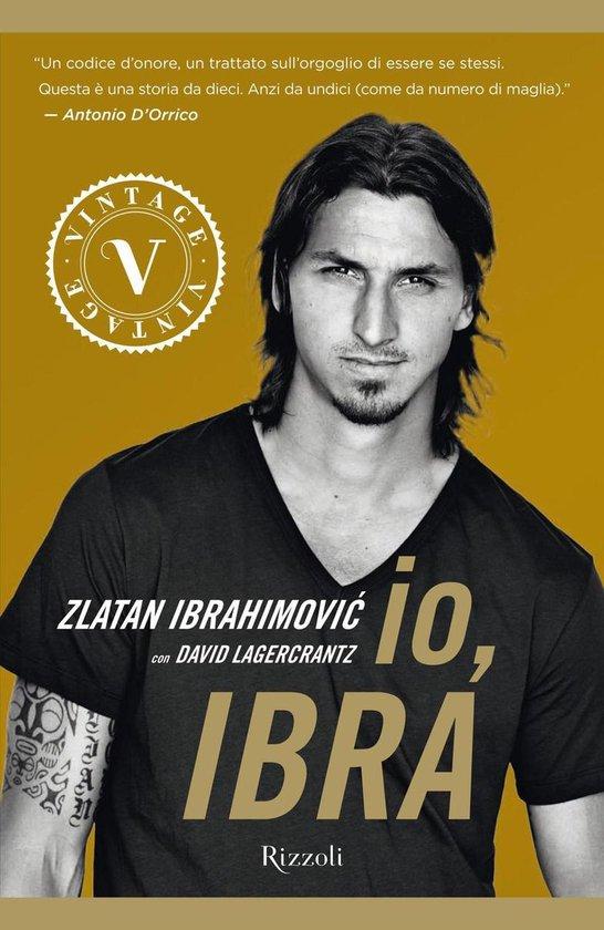 Boek cover Io, Ibra (VINTAGE) van Davide Lagercrantz (Onbekend)