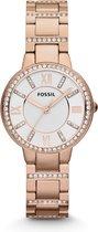 Fossil ES3284 - Horloge - Staal - Rosékleurig - 30 mm