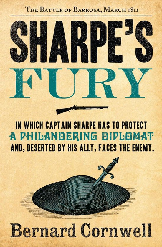 Boek cover Sharpes Fury: The Battle of Barrosa, March 1811 (The Sharpe Series, Book 11) van Bernard Cornwell (Onbekend)