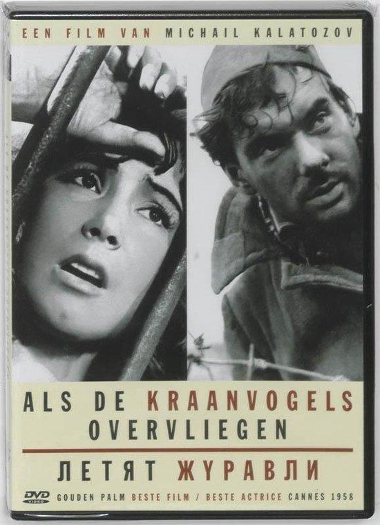 Cover van de film 'Als De Kraanvogels Over Overvliegen -Pal/Region 2 =Dir. Kalatozov='