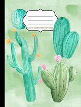 Cactus Composition Notebook