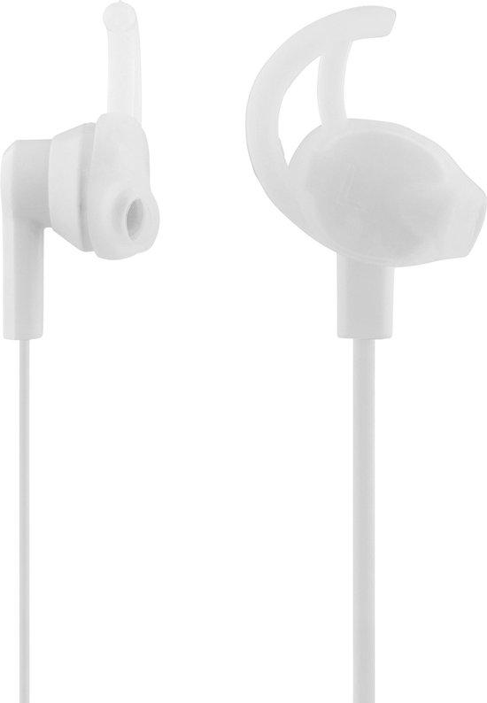STREETZ HL-351 In-ear oordpjes - Microfoon & Control button - wit