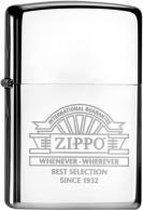 Zippo aansteker Whenever Wherever