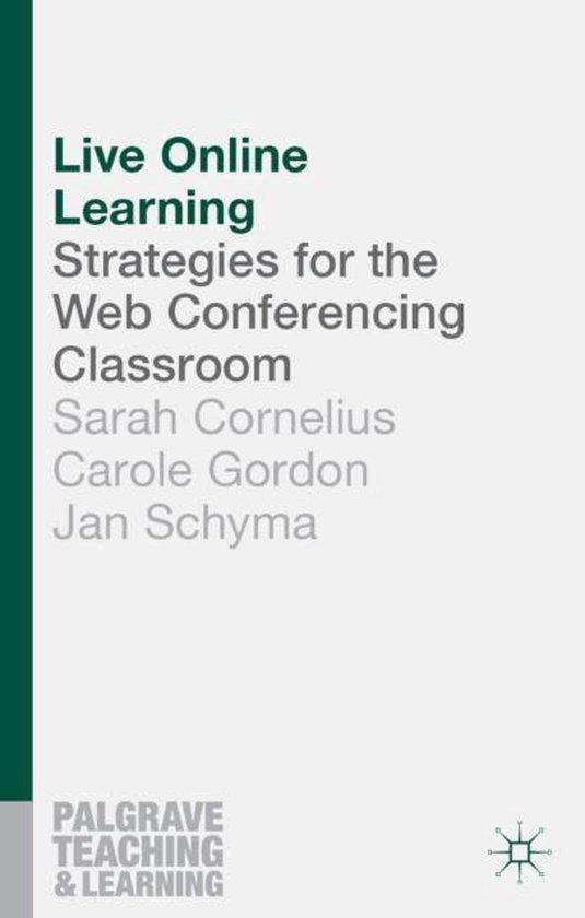 Boek cover Live Online Learning van Sarah Cornelius (Paperback)