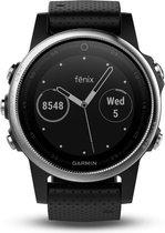 Garmin Fenix 5S - GPS multisport smartwatch met polshartslagmeter - 42 mm - Zilver/ Zwart