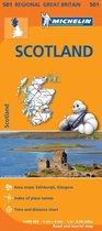 Scotland - Michelin Regional Map 501