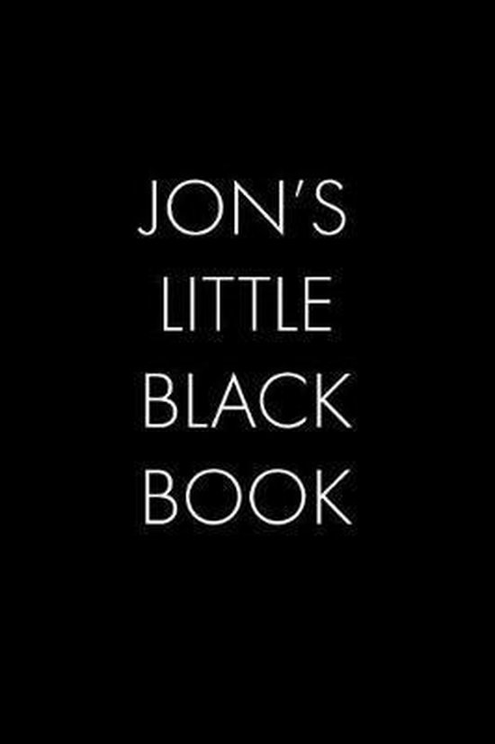 Jon's Little Black Book