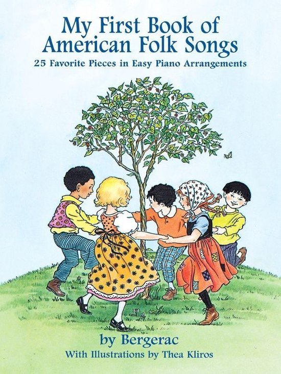 Boek cover A First Book of American Folk Songs van Bergerac (Onbekend)