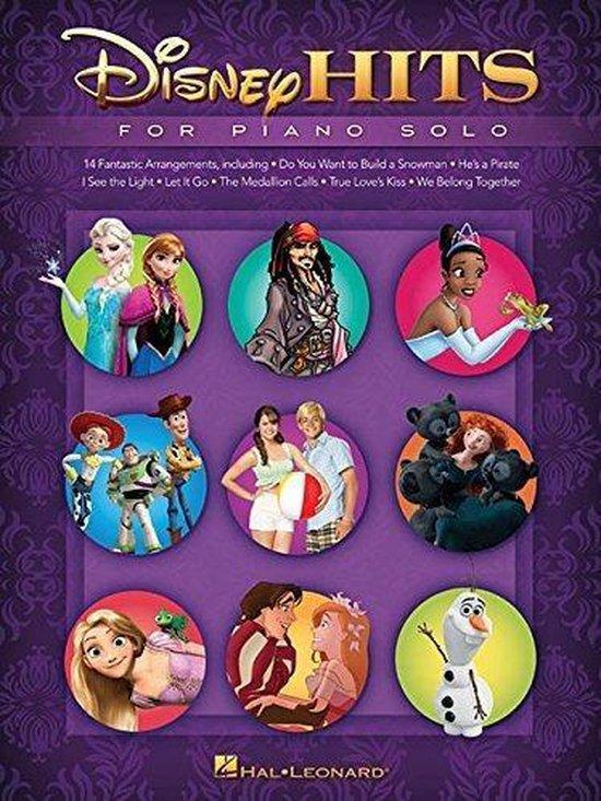 Boek cover Disney Hits For Piano Solo van Hal Leonard Corp. (Paperback)