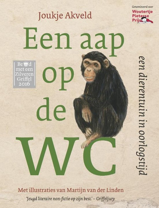 Een aap op de wc - Joukje Akveld |