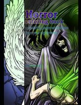 Horror coloring book